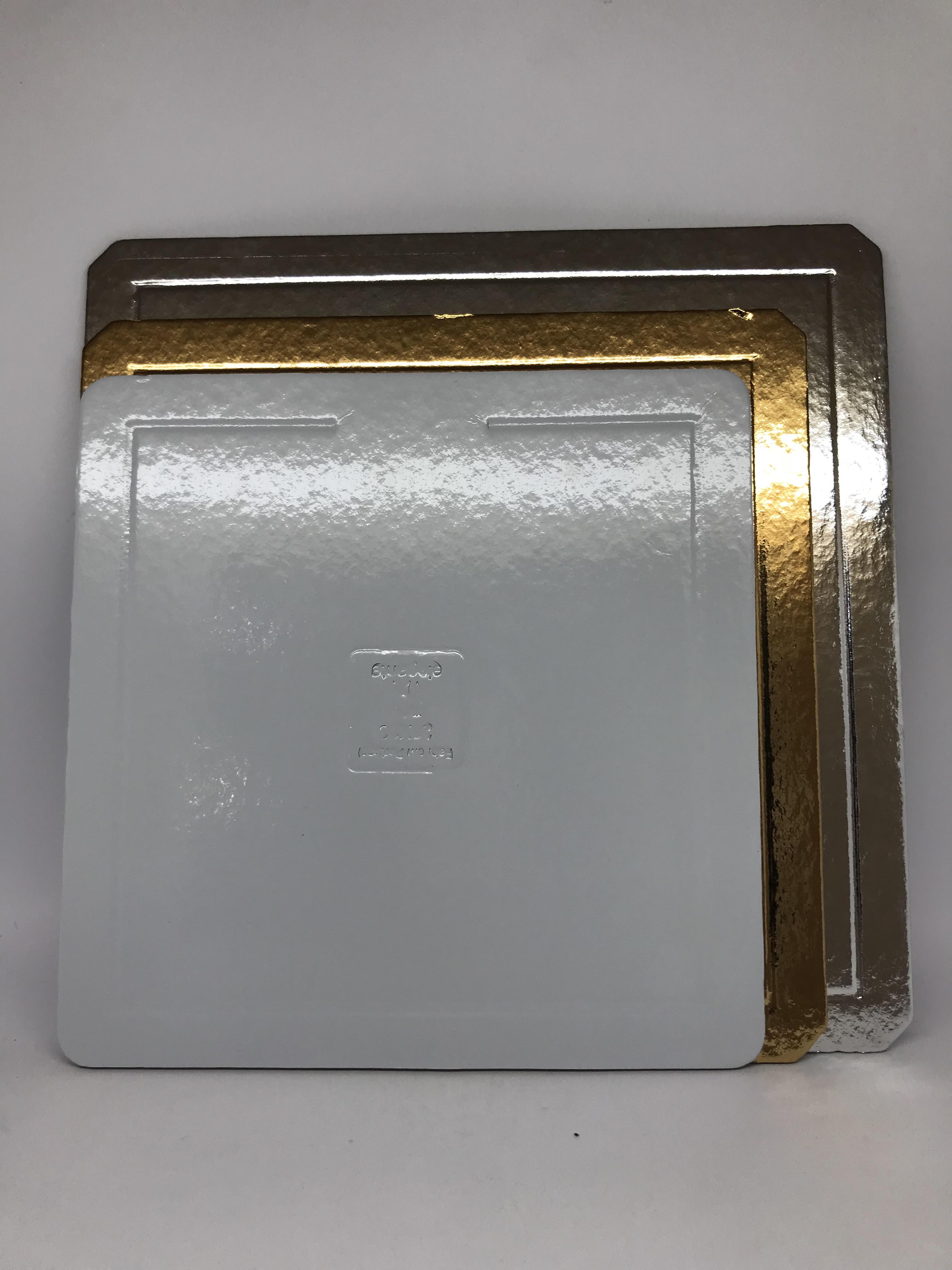 Bases de Cartão Quadradas