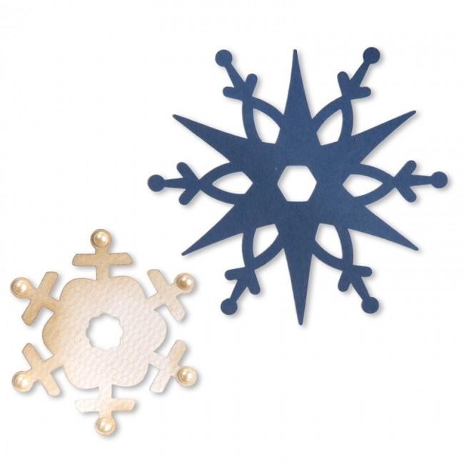 Cortantes Sizzix Flocos de Neve
