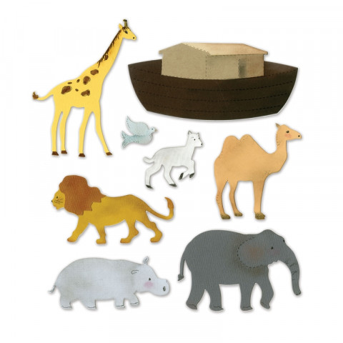 Cortantes Sizzix Animais da Selva/Floresta
