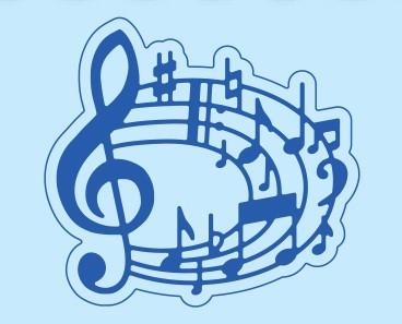 Cortantes Sizzix Música
