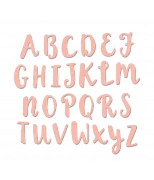 Cortantes Sizzix Alfabeto