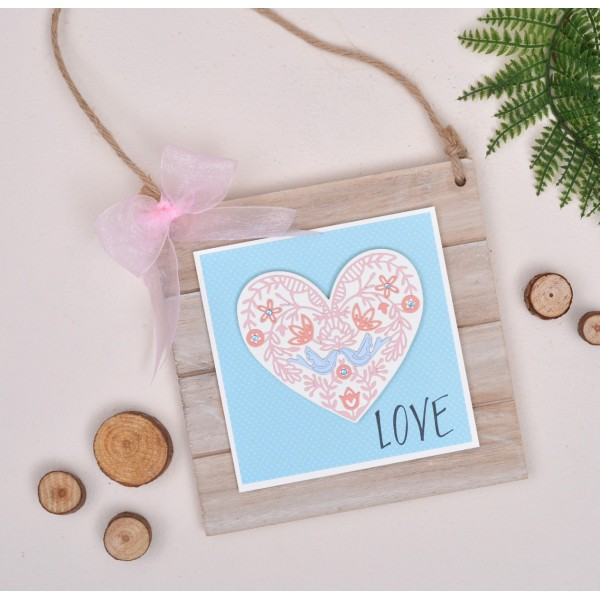 Cortantes Sizzix Love/Made With Love