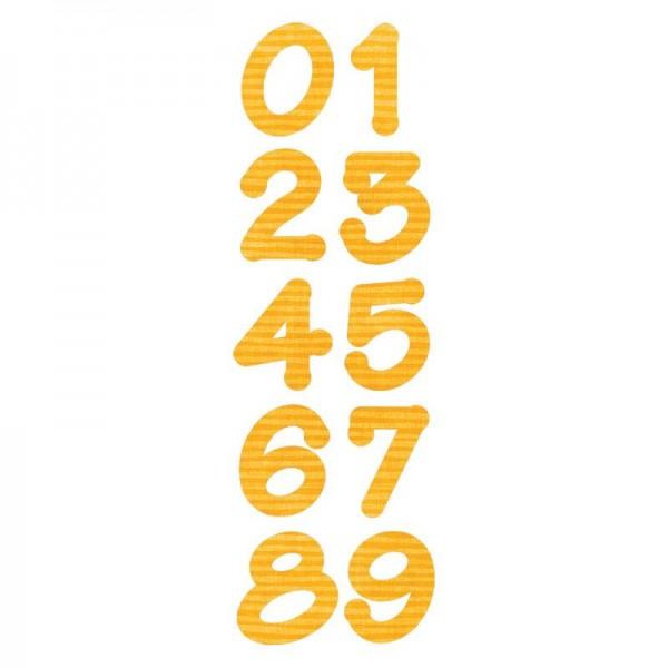 Cortantes Sizzix Números