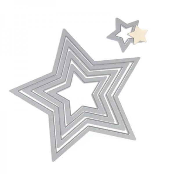 Cortantes Sizzix Estrelas